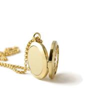 Petite Gold Fleur-de-lis Stainless Steel Diffuser
