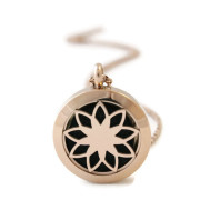 Rosegold Diffuser necklace