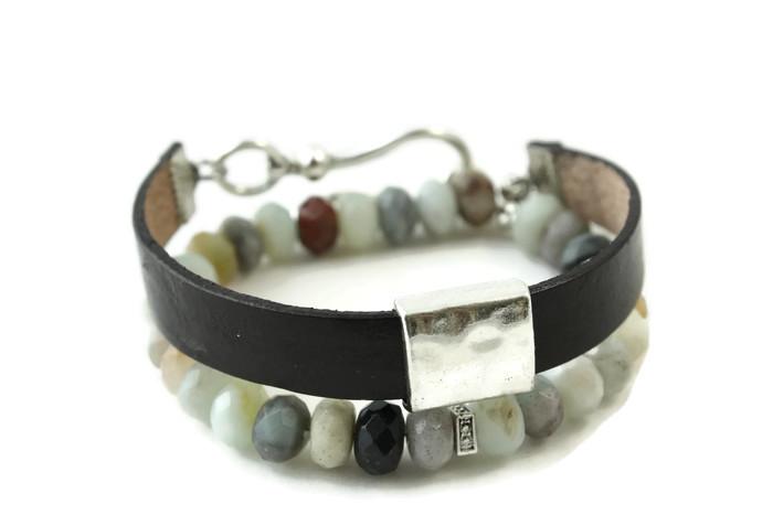 Leather Wrap Diffuser Bracelet