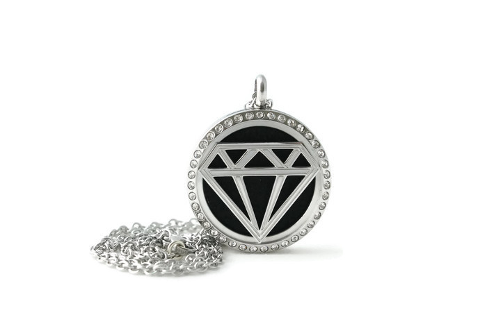 Diamond Diffuser Necklace