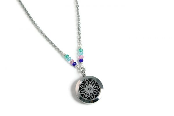 Stainless Steel Birthstone Necklace