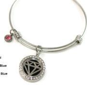 Diamond Bangle gemstone choices2