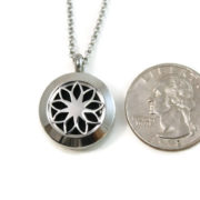 Mini Stainless Steel Diffuser Necklace