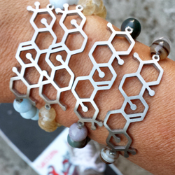 Molecular Structure Diffuser Jewelry