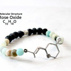 Petite Rose Oxide Diffuser Bracelet
