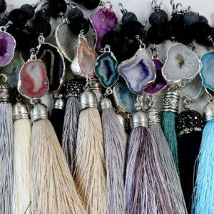 Druzy Diffuser Jewelry