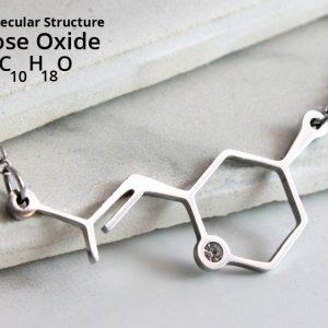 Molecular Structure Necklaces