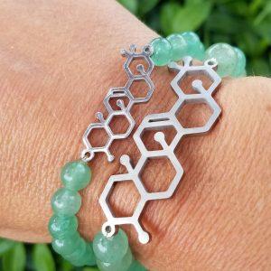 Molecular Structure Bracelets