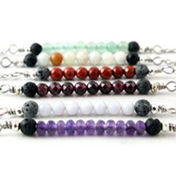 Gemstone Bar Diffuser Necklace