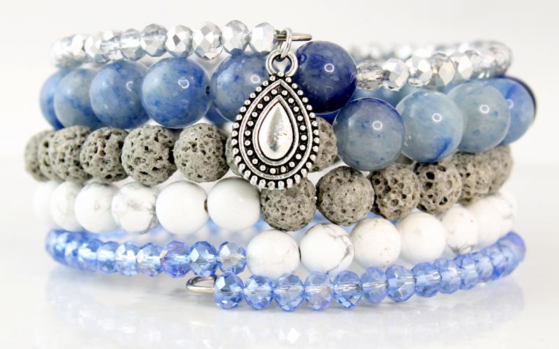 Memory Blue Adventurine Bracelet