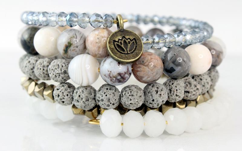 Memory Carnelian Agate bracelet